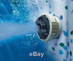 Helsinki Lay-Z-Spa Hot Tub Jacuzzi Inflatable Spa Brand New Design Bestway