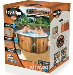 Helsinki Lay-Z-Spa Hot Tub Jacuzzi Inflatable Spa IN STOCK NOW