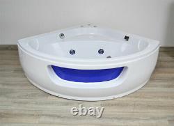 Home Deluxe Whirlpool Corner Bath Bathtub Tub Pool Thermostat Spa