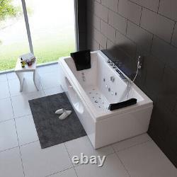 Home Deluxe Whirlpool Corner Bath Bathtub Tub Pool Thermostat Spa Heating