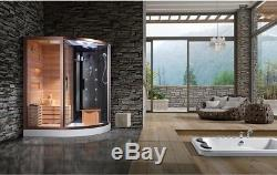 Home sauna room & outdoor ozone sauna equipment & wet sauna