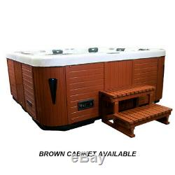Hot Tub 6-7 Person Luxury 19 Smart Android Tv Jacuzzi Spa 32amp American Balboa