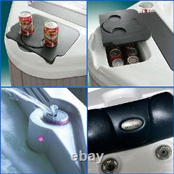 Hot Tub 6-8 Person Luxury 19 Smart Android Tv Jacuzzi Spa 32amp American