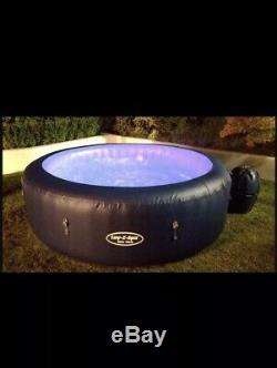 Hot Tub Lay-Z-Spa Led Light New York Lazy Spa Jacuzzi Bestway Nearly New
