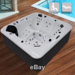 Hot Tubs Spa Jacuzzis Outdoor whirlpool Bath 6 Person with 58 massage Jets J400
