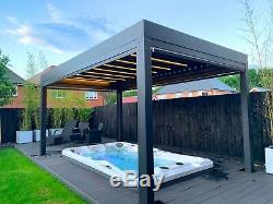 I-Sense Grande 8-10 Person Hot Tub Jacuzzi 3.8 x 2.25m Luxury Spa