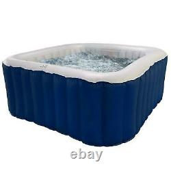 Inflatable Home Garden SPA Hot Tub Jacuzzi SET Outdoor Bubble Hydromassage Kit