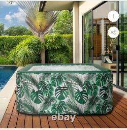 Inflatable Hot Tub Spa Jacuzzi. By Wave Tropical. Inc. Free Delivery UK