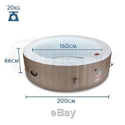 Jetstream Inflatable Spa Massage Portable Jacuzzi Hot Tub Outdoor Pool Bath 5