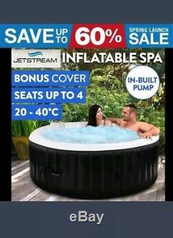 Jetstream Inflatable Spa Portable Jacuzzi Hot Tub Outdoor Pool Bath rrp 1500