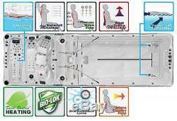 KikBuild SPAS ENERGY DEEP Swim Spa, 7.2m x 2.3m, Swimming Pool Hot Tub Jacuzzi