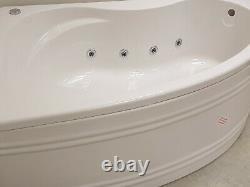 Koller whirlpool bath with pneumatic control, 1500 x 1100