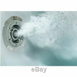 L Shape 1700 x 850mm LH Whirlpool Jacuzzi Bath Vitura 6 Jets Screen Front Panel