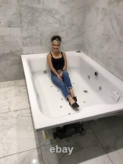 Large jacuzzi bath