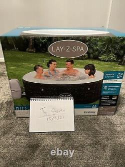 Lay Z Lazy Spa Rio 6 People Hot Tub Jacuzzi BRAND NEW Like Vegas
