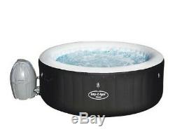 Lay-Z-Spa 54123-BNNX16AB02 Miami Hot Tub Airjet Inflatable SPA 2-4 Person BLACK