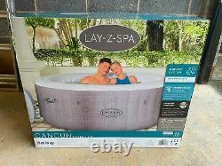 Lay Z Spa Cancun 4 Person Hot Tub Jacuzzi 2021 Edition (Like Miami Bali etc)