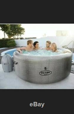 Lay-Z-Spa Cancun AirJet Hot Tub Jacuzzi Lazy Spa BRAND NEW NEXT DAY DISPATCH