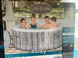 Lay-Z-Spa Fiji Inflatable Hot Tub Jacuzzi 2-4 Person Brand New Similar To Cancun