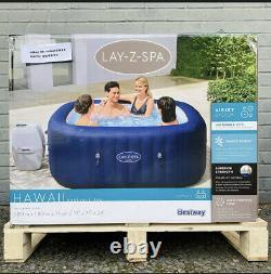 Lay-Z-Spa Hawaii Hot Tub 4-6 Person BNIB Lazy Spa Jacuzzi FREE