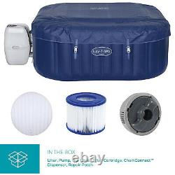 Lay-Z-Spa Hawaii Massage AirJet Inflatable Hot Tub Jacuzzi Spa By Bestway