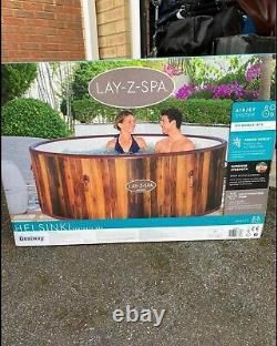 Lay-Z-Spa Helsinki Freeze Shield Hot Tub Jacuzzi. Fits 7 People. BRAND NEW