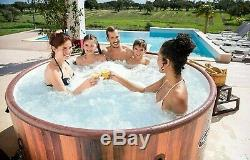 Lay Z Spa Helsinki, Lazy Inflatable Hot Tub Jacuzzi, 7 Person, Ready To Ship