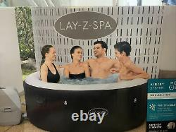 Lay-Z-Spa Hot Tub Miami 4 Adults Jacuzzi Warranty- Fast Delivery