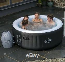 Lay-Z-Spa Miami 2-4 Person Hot Tub Jacuzzi Garden Spa BRAND NEW IN BOX