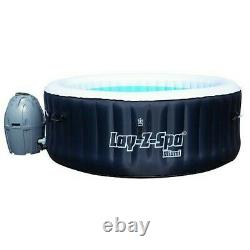 Lay-Z-Spa Miami Hot Tub Jacuzzi 4 Person Brand New Boxed FAST FREE DELIVERY