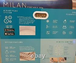 Lay-Z-Spa Milan Jacuzzi 6 Adults 2021 MODEL HOT TUB WIFI FAST DELIVERY
