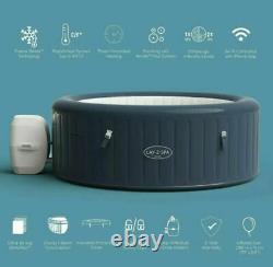 Lay-Z-Spa Milan SmartWiFi Tub 6 Person Lazy Spa Jacuzzi IN HAND 24HR DEL