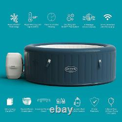 Lay-Z-Spa Milan Tub 6 Person IN HAND FREE SHIPPING Lazy Spa Jacuzzi