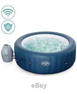 Lay Z Spa Milan, Wifi Lazy Inflatable Hot Tub Jacuzzi, 6 Person, Brand New