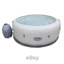 Lay-Z-Spa Paris Inflatable Hot Tub Jacuzzi 4/6 Person AirJet Massage System