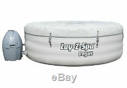 Lay-Z Spa Vegas Airjet 4-6 Person Inflatable Hot Tub Jacuzzi Lazy