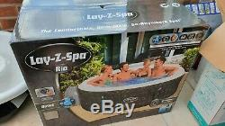 Lay z Spa Rio Lazy Spa Rio Hot Tub Jacuzzi Up To 6 People. New Unopened/new