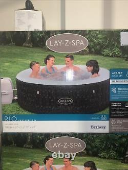 Lazy Spa Rio 4-6 People Hot Tub Jacuzzi Like Vegas NEW 2021FAST/FREE P&P