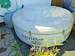 Lazy Spa Vegas 4-6 people Lay-z Hot Tub Jacuzzi Inflatable & accessories +