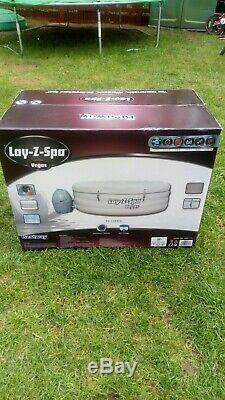 Lazy spa vegas hot tub jacuzzi for 4-6 peaple inflatable lasy spa BRAND NEW