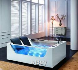 Luxury Bath Suite 2 Person Whirlpool Spa Jacuzzi Tub Bathroom Shower Massage Jet