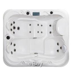 Luxury Hot Tub Spa Jacuzzis Whirlpool Bath (2+1) Person For Indoor / Outdoor Use