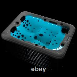 Luxury Outdoor Hot tub Thermostatic Spa Whirlpool 51 Jacuzzi Jets 3-4 Person
