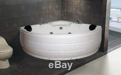 MOSONICS Whirlpool Spa Massage Bath tub 1350X1350 HIGH QUALITY