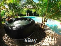 MSPA Camaro Family Inflatable Hot Tub Portable Spa Jacuzzi 6 Person Home Holiday