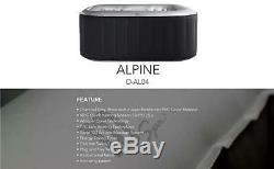 MSPA REFURBISHED Alpine Delight D-AL04 Portable 4 Person Spa Hot Tub Jacuzzi