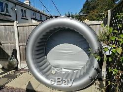 MSpa 4 Person Hot Tub Quick Heating/Inflating Portable Inflatable Spa Jacuzzi