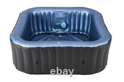 MSpa C-TE041 Tekapo 4 (2+2) Person Inflatable Square Bubble Hot Tub Jacuzzi Spa