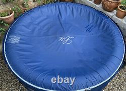 MSpa Lite 4-Person (2+2) Inflatable Hot Tub Jacuzzi Bubble Spa Round