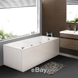 Modern Whirlpool Shower Bath 11 Massage Jets Corner Straight Acrylic Bathtub1700